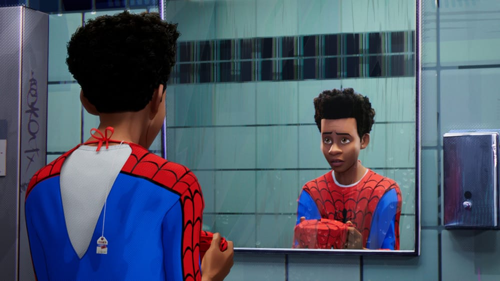 'Spider-man: Into the Spider-verse' screens this month in Philly. (Image courtesy of Warner Bros. Pictures.)