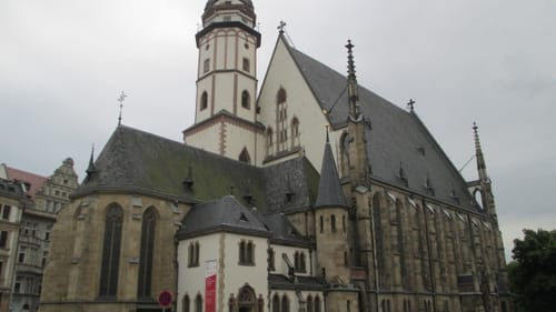 St. Thomas Church in Leipzig. (Photo via Creative Commons/Wikimedia)