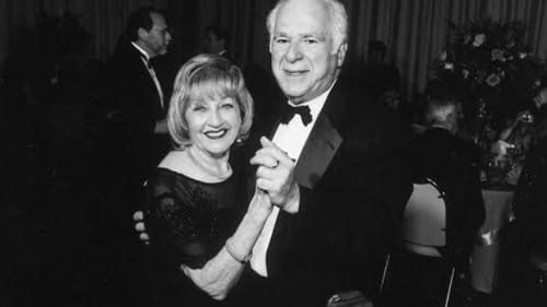 Gloria Hochman, shown here with her husband Stan, sifted through more than 7,000 columns to distill this book. (Image courtesy of the Hochman family collection.)