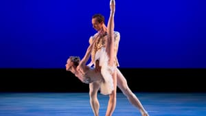 The illusion of weightlessness: Teresa Reichlen and Ask la Cour. (Photo courtesy of Stars of American Ballet.)
