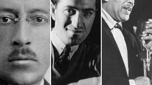 The Philadelphia Orchestra seats Stravinsky, Gershwin, and Ellington together. (Images via Wikimedia Commons.)