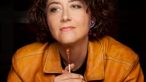 Conductor Nathalie Stutzmann never drops the baton. (Photo by Simon Fowler.)
