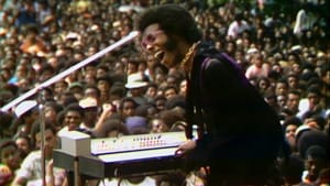 The premiere of a Questlove jawn: Sly Stone in 'Summer of Soul.' (Image courtesy of Searchlight/Hulu.)