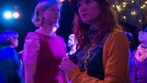 Jenna Kuerzi's Dot (right) brings a rare power to the role. (Photo by Joe del Tufo/Moonloop Photography.)