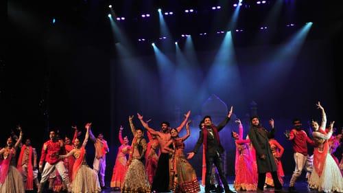 More than 1,000 costumes deck the ensemble of 'Taj Express.' (Image courtesy of the Kimmel Center.)