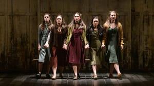 The girls of 'The Crucible': Grace Nardo, Charlotte Kalilec, Maria Guiver, Izabel Mar, and Jenna Dorrian. (Photo  Evan Krape.)