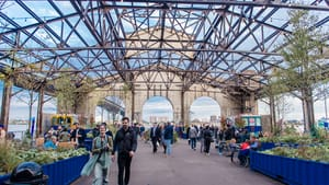 The Food Trust Market at Cherry Street Pier returns this weekend. (Photo courtesy of The Food Trust.)