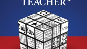 'The History Teacher' opens with a pair of murders on a familiar-sounding Delaware estate. (Image courtesy of Porter Street Press.)