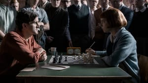 A chess journey from mid-century America still resonates today: Harry Melling and Anya Taylor-Joy in 'The Queen's Gambit.' (Image credit Phil Bray/Netflix 2020.)