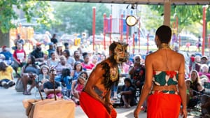 A beneficiary of the Cultural Fund: Theatre in the X's 2019 production of 'The Beast of Nubia.' (Photo by Johanna Austin.)