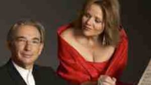 Tilson Thomas with Renee Fleming: He learned from a master.