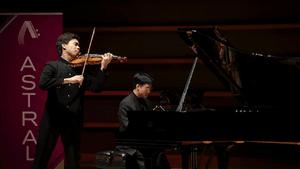 Timothy Chooi goes for baroque. (Photo by Ryan Brandenberg)