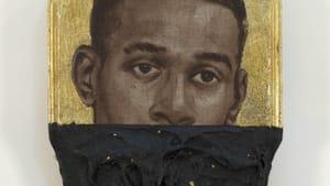 Titus Kaphar's 2014 'Jerome XVI.' Copyright Titus Kaphar. (Image courtesy of the artist and Jack Shainman Gallery, New York.)