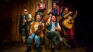 Many characters, epic action, and songs: the ensemble of the Arden's 'Treasure Island.' (Photo by Wide Eyed Studios.)