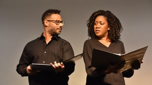 """Theatre Ariel's 'True Colors' looks at the kaleidoscope of being """"an American Jew."""" (Photo courtesy of Theatre Ariel.)"""