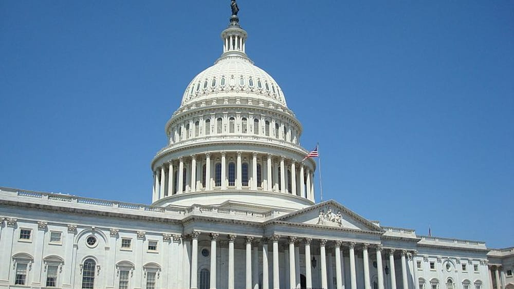 What does the US Capitol stand for? (Photo by Andrew Van Huss, via Wikimedia Commons.)