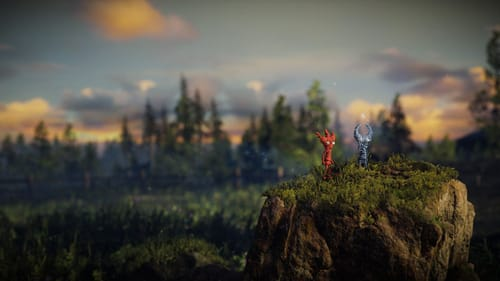 Working together to solve puzzles: 'Unravel Two.' (Image courtesy of ColdWood Interactive.)