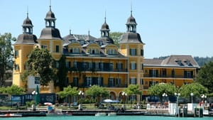 Schloss Velden in Wörthersee, Austria, the town where Brahms composed his Second Symphony. (Photo by Johnann Jaritz via Creative Commons/Wikipedia)