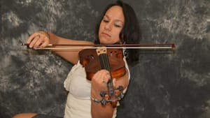 Celina Velez has been bringing chamber music to Spanish-speaking communities for years. (Photo by Marcus Velez.)