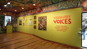 A show that promises an internal experience: enter 'Visionary Voices.' (Photo courtesy of Philadelphia's Magic Gardens.)