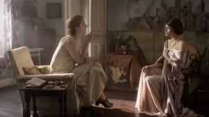 Very different women: Elizabeth Debicki (left) as Virgina Woolf, and Gemma Arterton as Vita Sackville-West. (Image courtesy of IFC Films.)