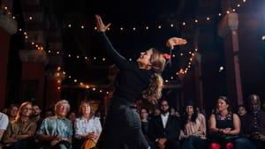 Glenda Sol Koerus, aka 'La Argentinita,' performs in a flamenco tablao at Fleisher Art Memorial. (Photo by Contigo Photos + Film.)