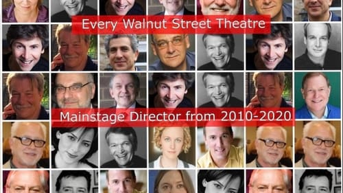 Philly theater artist Liam Mulshine assembled this 2020 graphic showing 10 years of Walnut mainstage directors. (Image courtesy of Jenna Pinchbeck.)