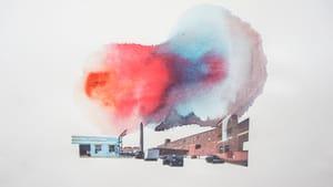 "Theresa Rose, ""Washington Avenue"" (2012, mixed media collage)"