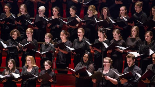 For literal believers or musical connoisseurs, the Westminster Symphonic Choir gives voice to Bach. (Photo by Jessica Griffin.)