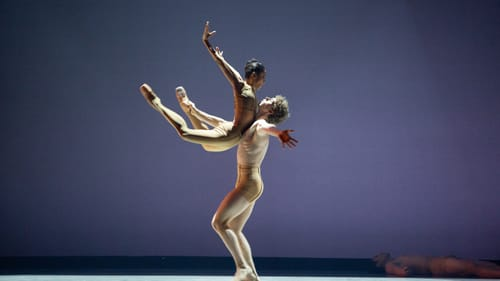 Pure dance: Nayara Lopes and Jack Thomas in Juliano Nuñes's 'Connection.' (Photo by Alexander Iziliaev.)