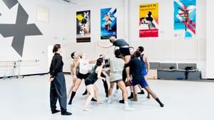 A rehearsal for BalletX's 2018 Skype ballet performance 'Yonder.' (Photo by Vikki Sloviter.)