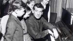 """Leonard Bernstein, composer of """"Chichester Psalms,"""" introduced children to classical music at his """"Young People's Concerts."""" (Photo via Creative Commons/Wikimedia.)"""