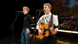 Ben COoley and Taylor Bloom star in 'The Simon & Garfunkel Story' at the Kimmel Center. (Photo by Lane Peters.)