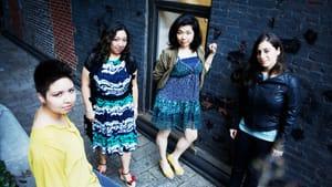 Strolling players: The Aizuri Quartet (photo courtesy of Jamie Jung)