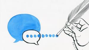 Celebrating the language that yanks us from the yadda-yadda-yadda of everyday speech. (Illustration for BSR by Mike Jackson of alrightmike.com)