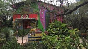 Anado McLauchlin's house in Mexico (Photo courtesy of the author)