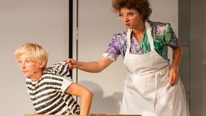 Aww, Mom! Tuomanen and Kasprzycka. (Both photos by Dominic M. Mercier, courtesy Opera Philadelphia)