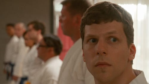 """What does being a """"real man"""" mean? Jesse Eisenberg in 'The Art of Self-Defense.' (Image courtesy of Bleeker Street.)"""