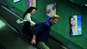 Mann's usual striking visuals: Tang Wei and Chris Hemsworth (© 2014 - Universal Pictures)