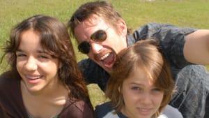 "A fractured family: Lorelei Linklater, Ethan Hawke, and Ellar Coltrane in ""Boyhood"" (© 2014 - IFC Films)"