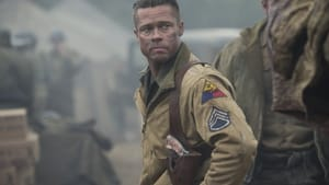 """""""Send me"""": Brad Pitt in """"Fury."""" (© 2014 CTMG, Inc. All Rights Reserved.)"""