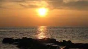 Cape May sunset: Not a mugger or bureaucrat in sight.
