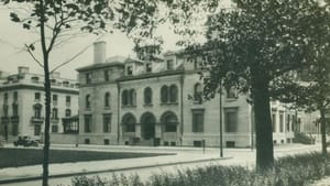 The Curtis Institute around the time of its founding in 1924.
