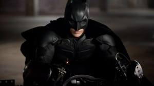 """Who's behind the mask? (Christian Bale in """"The Dark Knight Rises""""; © 2012 - Warner Bros. Pictures)"""