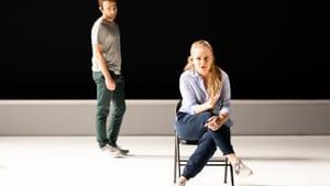 Crisply individual: Theo Huffman and Siena Licht Miller in 'Denis and Katya.' (Photo courtesy of Opera Philadelphia.)