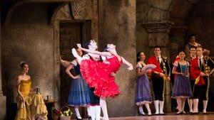 Mayara Pineiro (as Kitri) and Etienne Diaz (as Basilio) in 'Don Quixote.' (Photo by Alexander Iziliaev)
