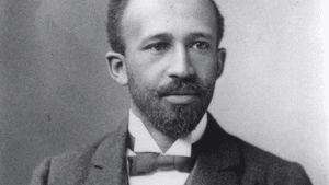 Scribe Video Center will be screening a rare W.E.B. Du Bois documentary this coming Tuesday. (Image courtesy of Scribe.)