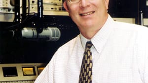 Ed Cunningham, the voice of the Philadelphia pledge drive. (Courtesy of WHYY)