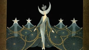 Erté's Art Deco take on the Queen of the Night.