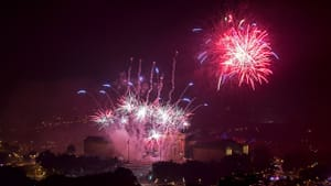 Fireworks spark contemptuously now, and July 4 will hit differently this year—finally. (Photo via Wikimedia Commons.)